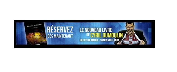 «Billets de match – Saison 2013/14» – Réservations ouvertes