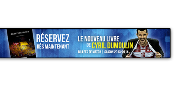 """""""Billets de match – Saison 2013/14"""" – Réservations ouvertes"""