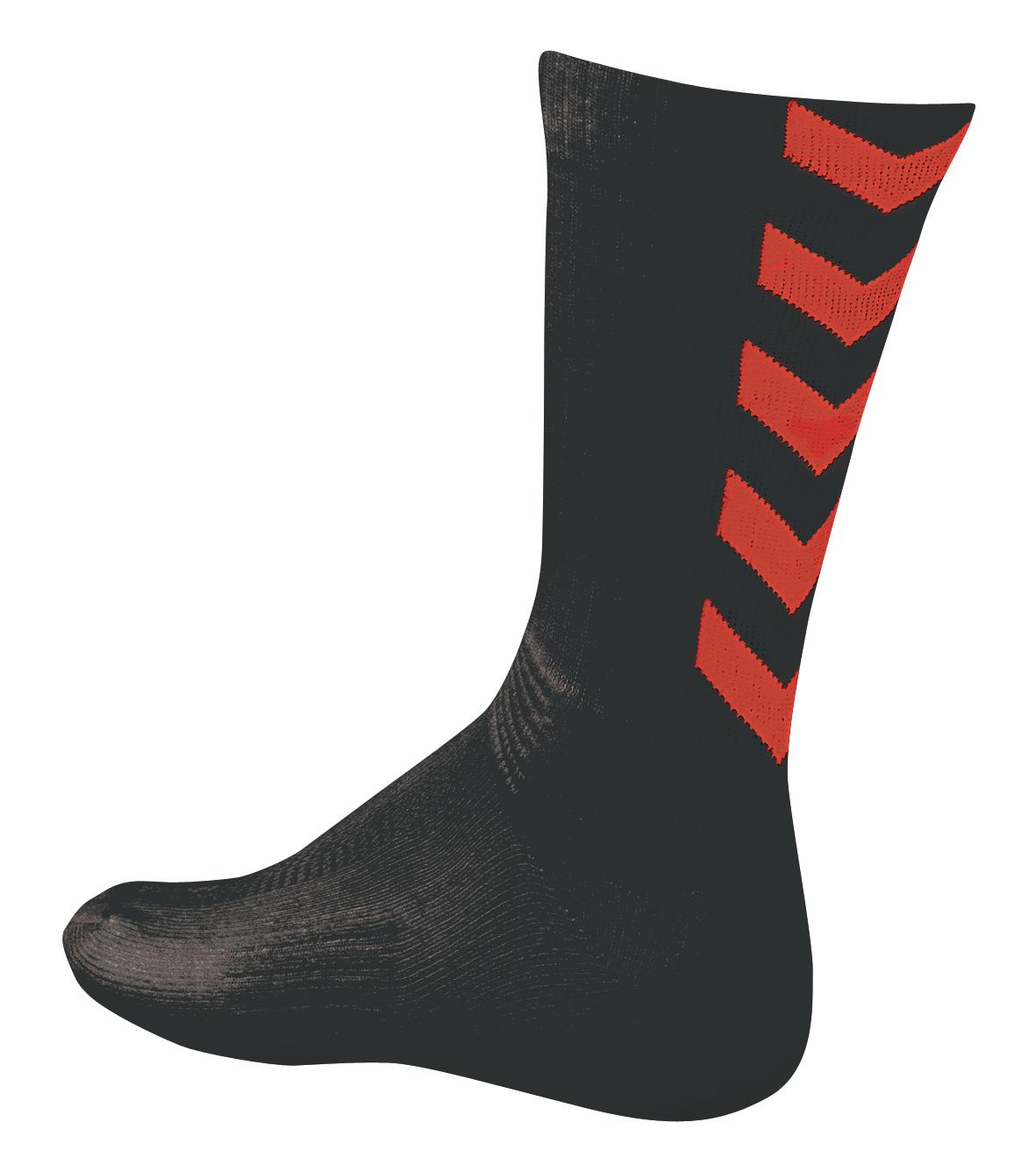 chaussettes-hummel-rouges